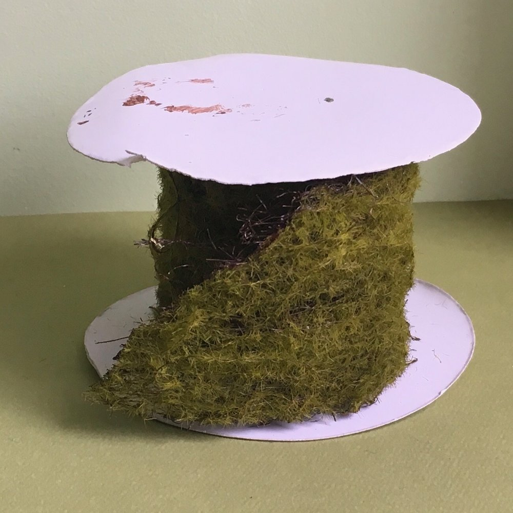 My roll of moss