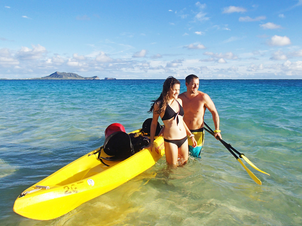 $99 - self guided kayak tour