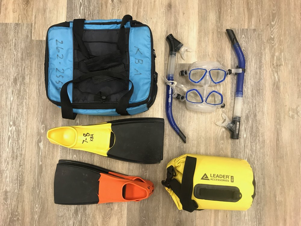 Kayak Rental Snorkel Gear Kailua Bay