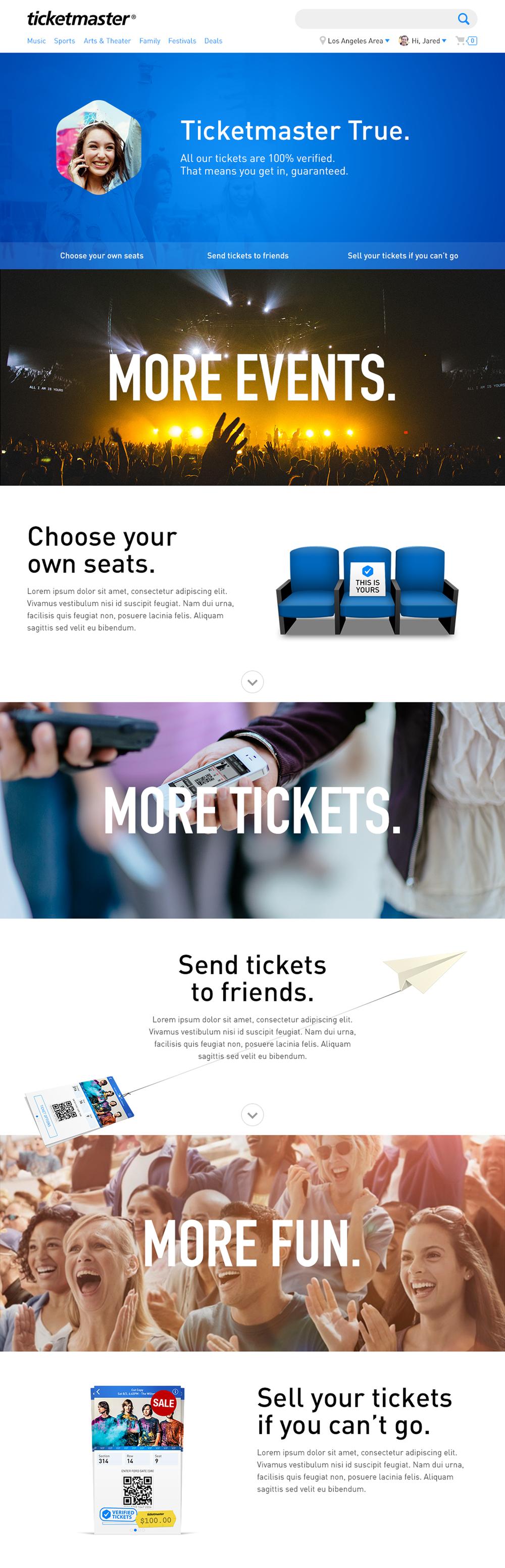 Ticketmaster True Promo