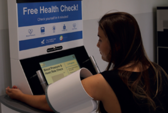 University of Southampton have a SiSU Health Station installed at the entrance of the General Hospital - 9,000 checks have already been completed!