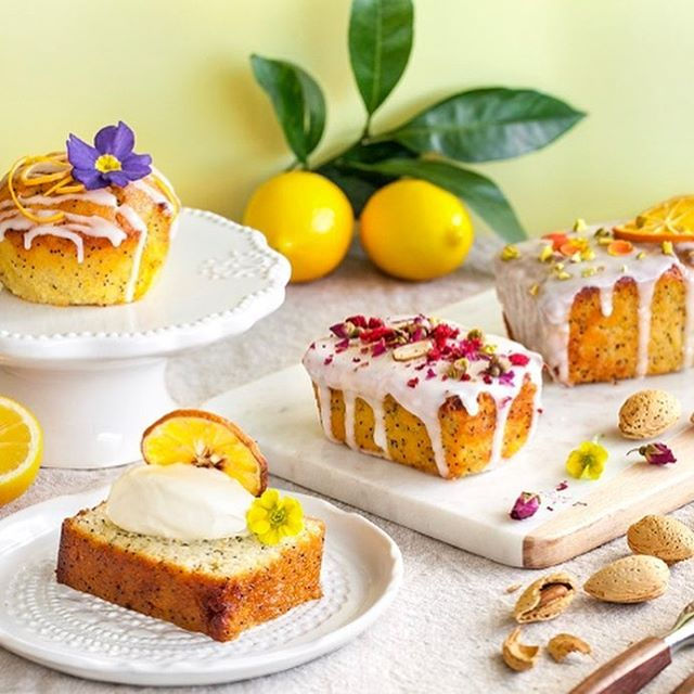 Ah Saturday morning, the blossoming citrus trees smell amazing right now, inspiration for a quick brunch if you feel like something citrus - lemon and poppy loaf @farrofresh and selected NW's. #glutenfree #dairyfree #handmade. Photo credit the wonderful Leno @crazy_cucumber_blog