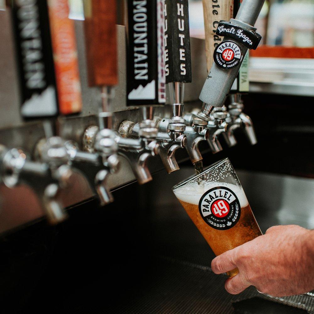Drinks - We love craft beer.