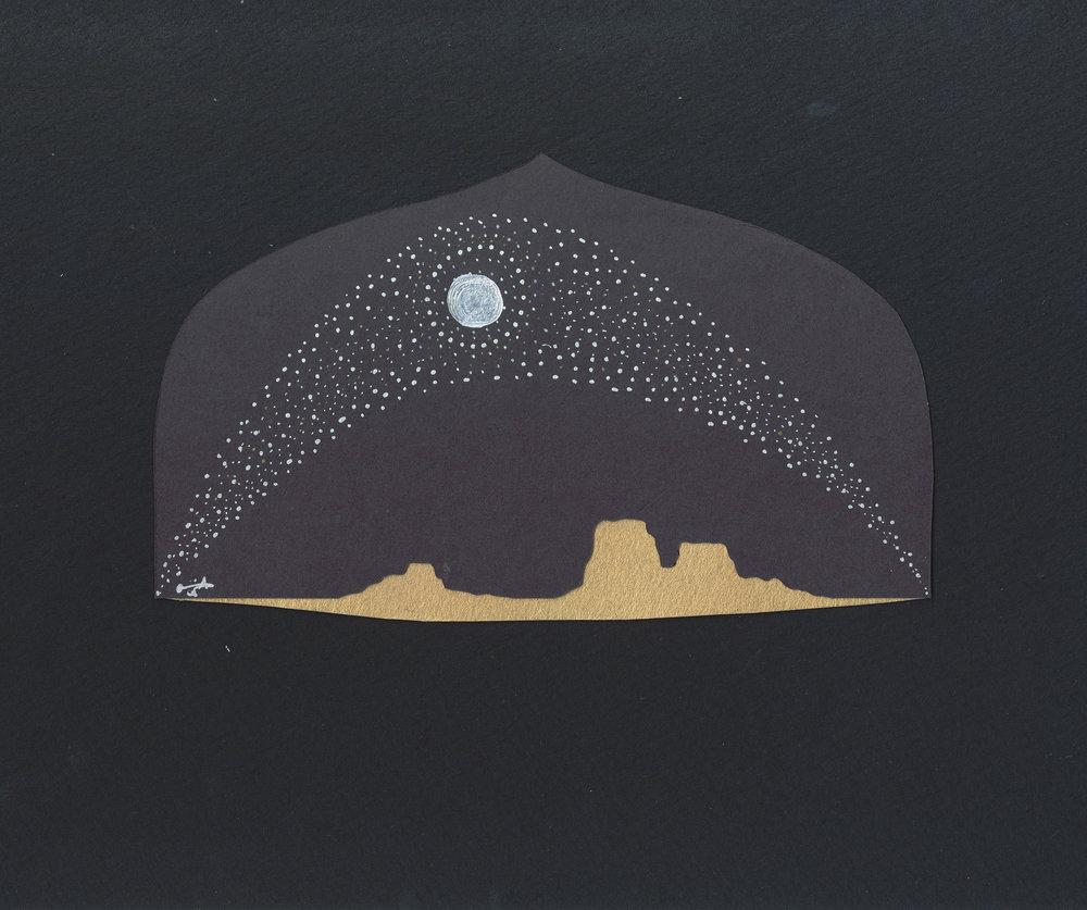 moon and mesas