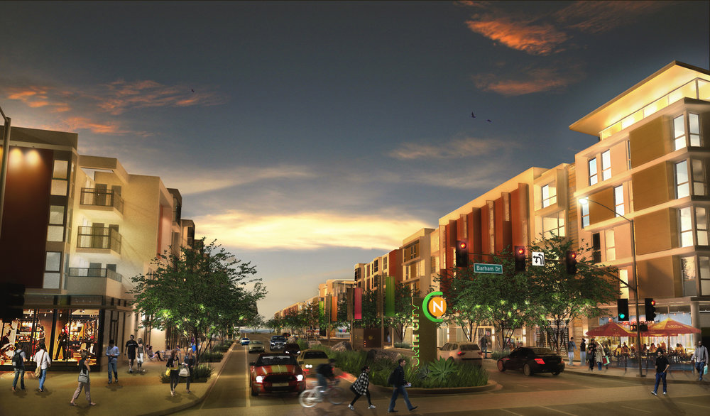 our compact, mixed-use design, convenient geographic location and truly walkable neighborhood ensures all residents a healthy, vibrant & active environment. - Vibrant