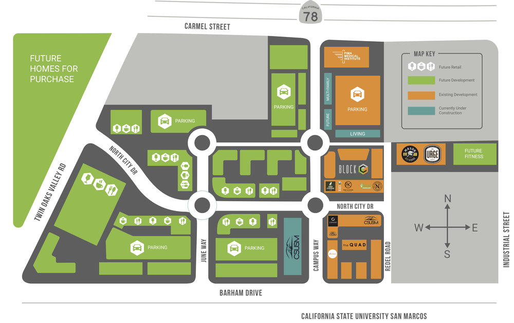 CLICK the Site Map to see a glimpse into the future...