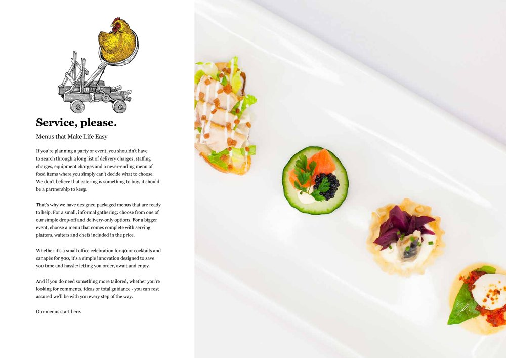 Invisible Kitchen - Brochure