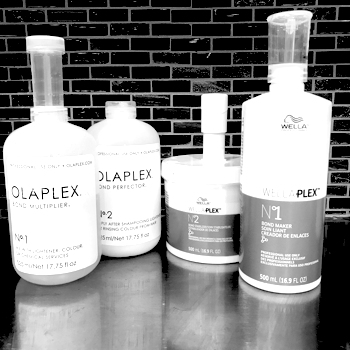 OlaPlex/WELLA Plex$30 & up - You can insure the integrity of your hair by adding these award winning, bond builders, to any haircut or color service that we offer. This can be a stand alone service.