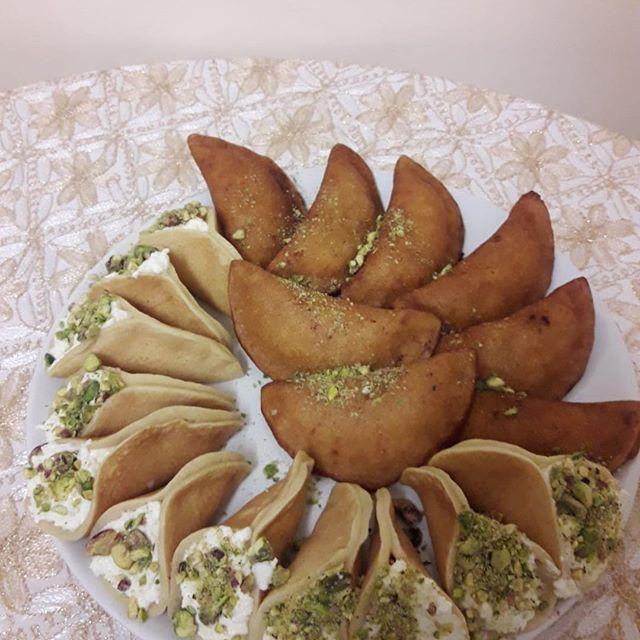 Jonah's, katayef 👌👍🏻👍🏻#desserts#syrianfood #refugeewomen #syriankitchen