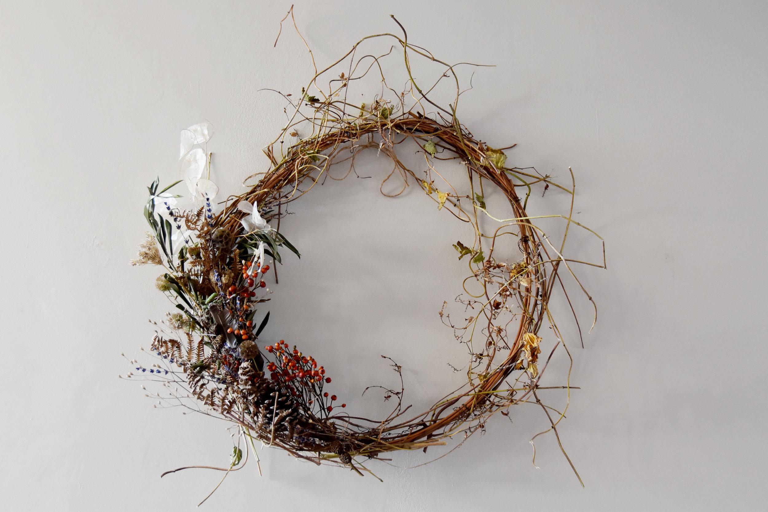 Sisterhood Wreath Making