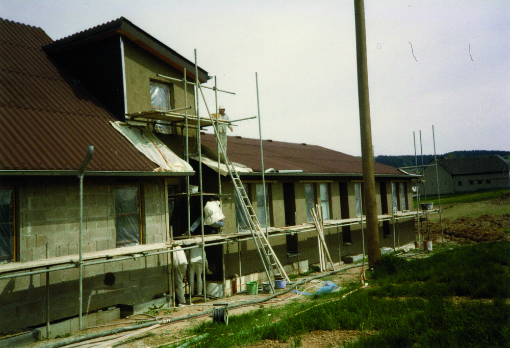 1985 - Baubeginn des