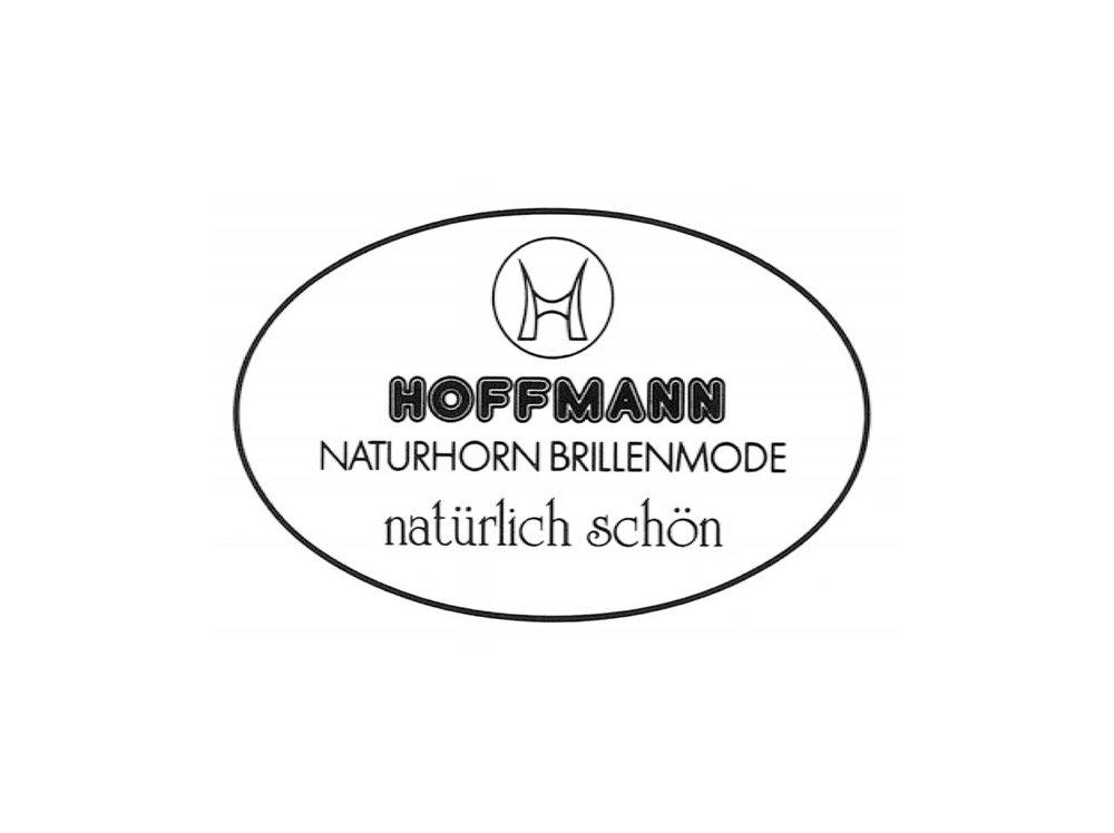 1978 - Gründung der Firma Hoffmann Naturhorn BrillenErstes Markenlogo der Firma Hoffmann_____Founding of Hoffmann Naturhorn BrillenHoffmann´s first brand logo