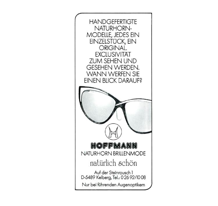 1989 - Werbeanzeige