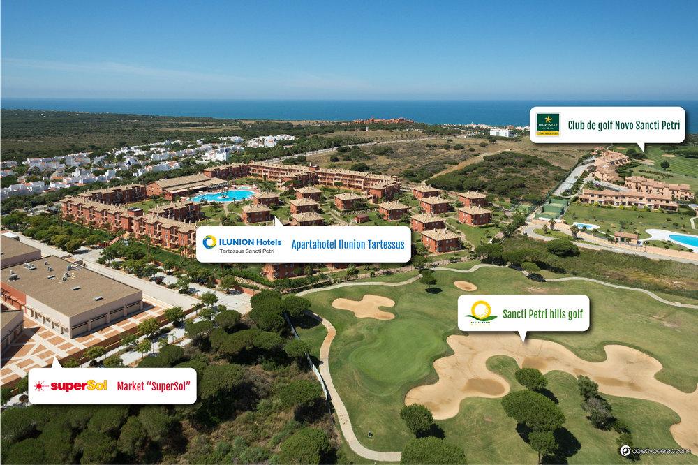 Apartahotel Ilunion-Tartessus & Sancti Petri HIlls Golf . Foto.jpg