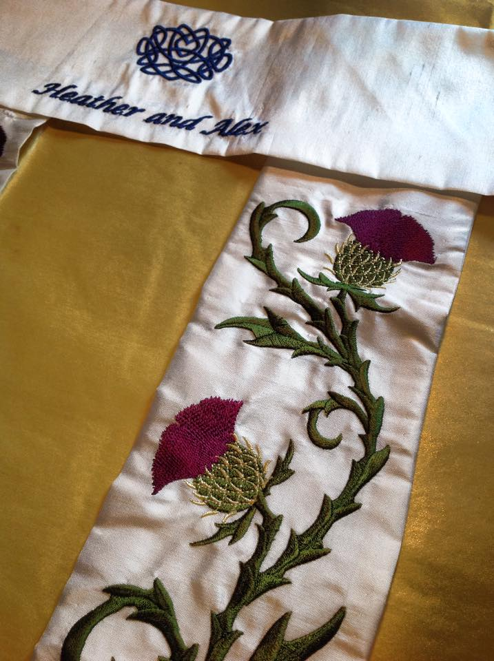 Thistles in Silk