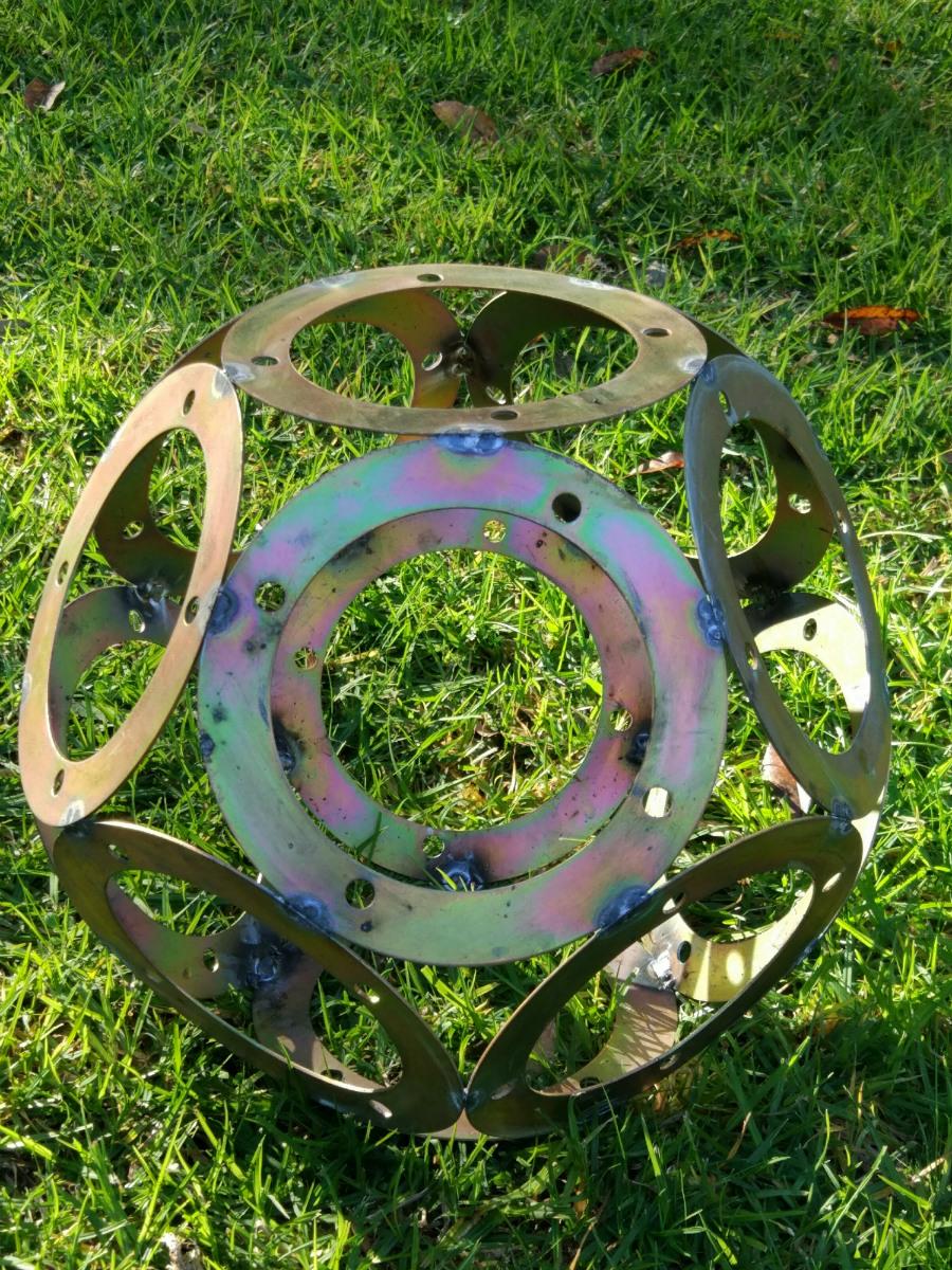 Ring sphere metal sculpture, 38cm.jpg