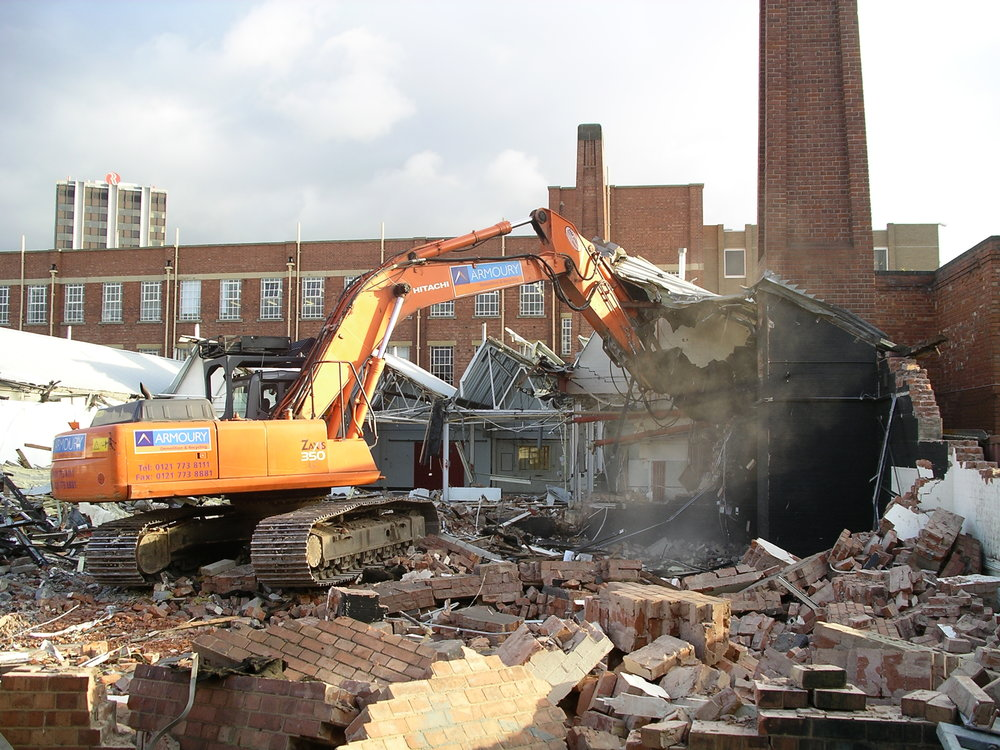 Middlefield Hospital has been demolished. This makes it very important to have photos of what it looked like. -