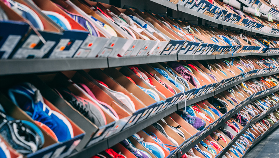 Optical illusion: some see warehouse inventory while others see retail product