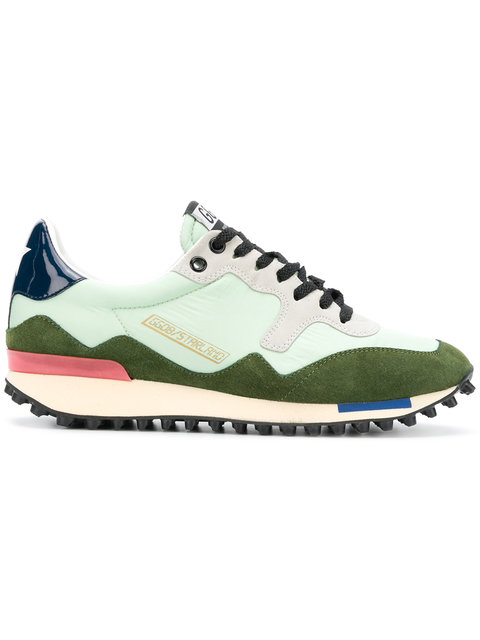 "GOLDEN GOOSE DELUXE BRAND <br><font size=""normal"">Starland trainers</font>"