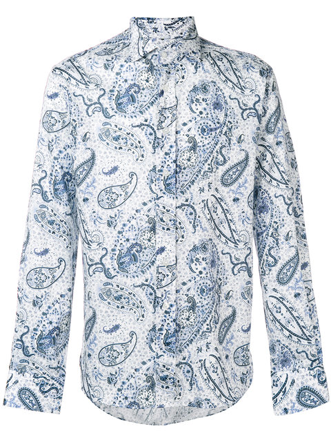 ETRO<br>Hemd mit Paisleymuster