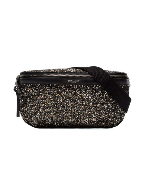 SAINT LAURENT<br>Gürteltasche mit Glitzerapplikationen