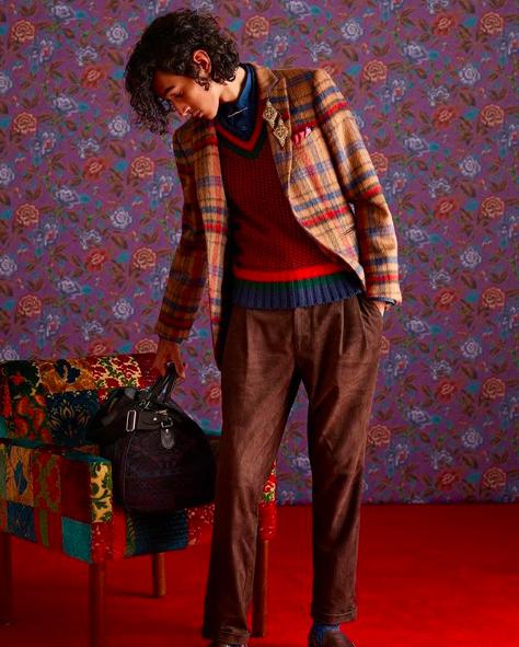 ETRO<br>Pullover mit V-Ausschnitt