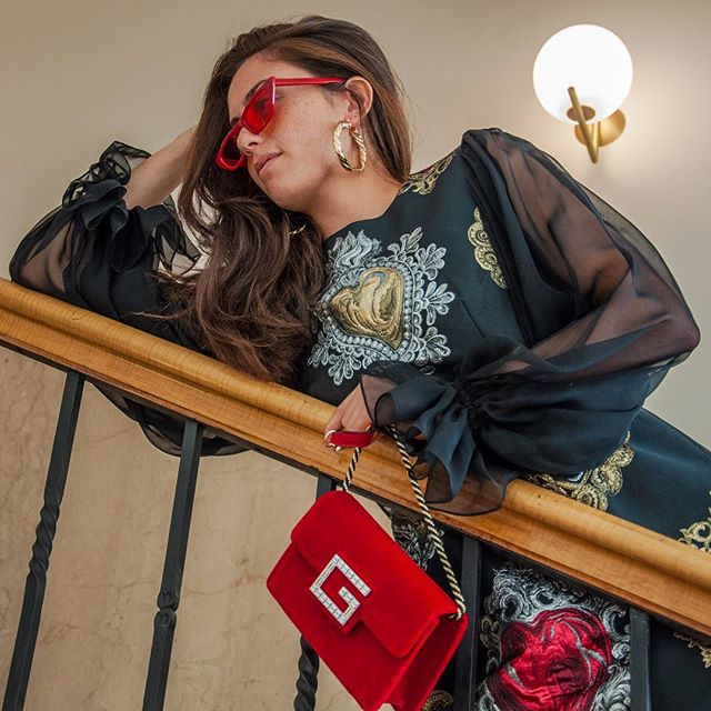 New arrivals from #dolcegabbana #gucci and #givenchy are giving us lifeeee! Sunglasses and earrings from @shakefashionmix 🙌 shot at @melterhotelapartments