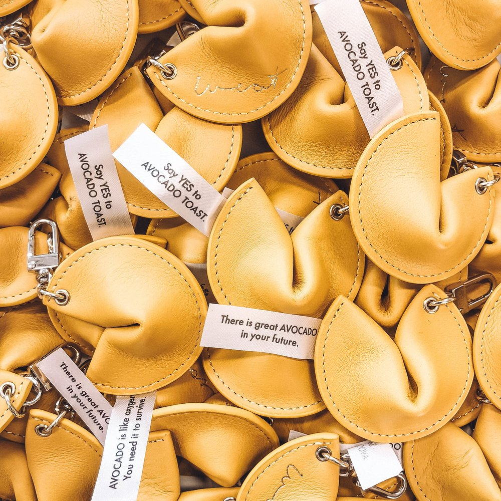 FORTUNE COOKIE - What will your key chain tell you?