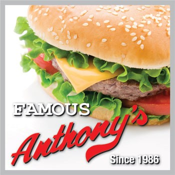 Famous Anthony's - One free kid's meal with each adult meal purchased from 4pm-closing. Dine in only.*Monday and Saturday2104 Wards Rd. Lynchburg, VA 24502(434) 455-6950