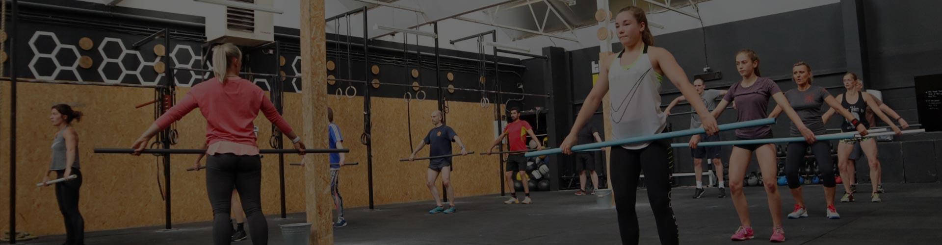 gymnastics classes banner