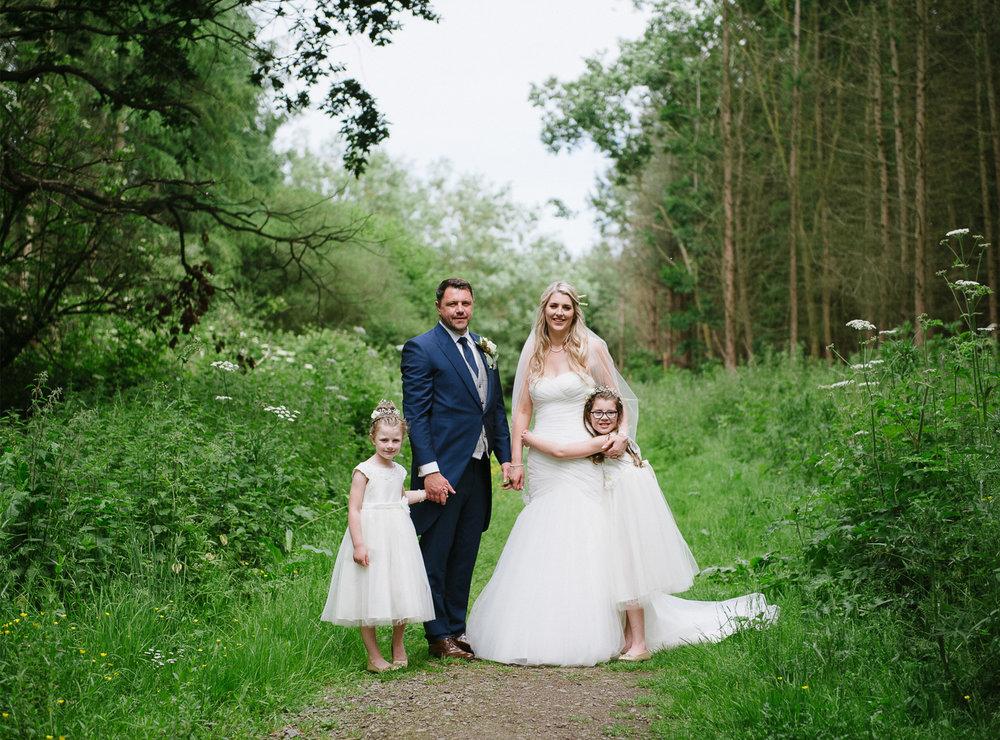 Dom and Katies Rosliston Outdoor wedding
