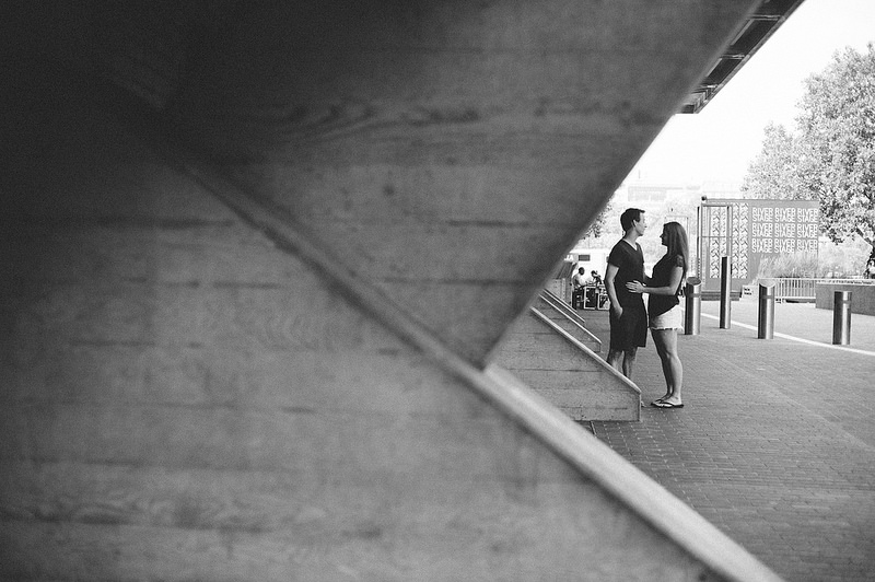 Their Engagement Photos - at London Southbank