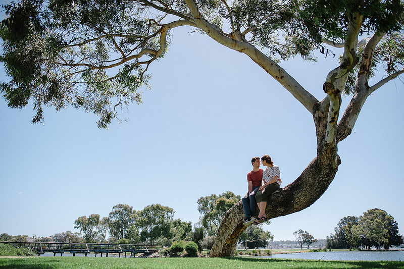 Their Engagement Photos - at Perth Foreshore