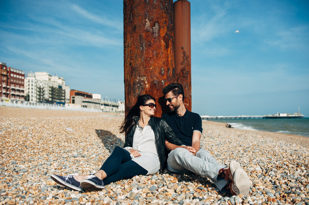 Their Engagement Photos -   in Brighton