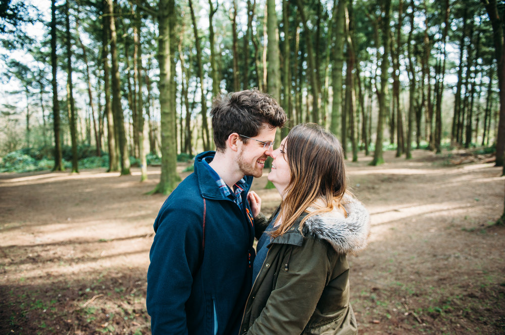 Their Engagement Photos - in the Lickey Hills