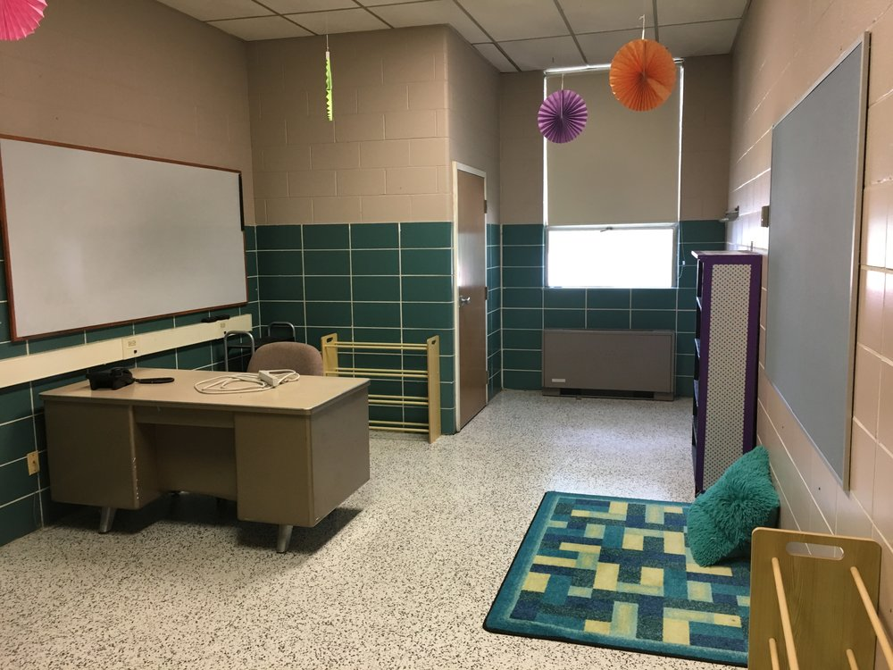 Lots of potential for the proposed room for the sensory space. Will be a great addition for the students at WCS-St. Agnes!