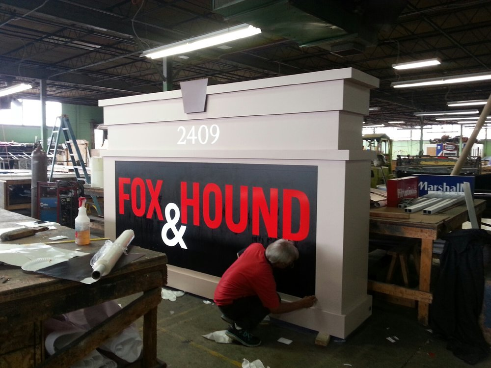 MONUMENT & PYLONSFABRICATION & REPAIR - Our designers, fabricators, installers, and architects work together to make sure you have the most durable and attractive pylon or monument sign. We partner with local building departments to ensure your location gets the biggest and best signage, all the while adhering to local permit codes.