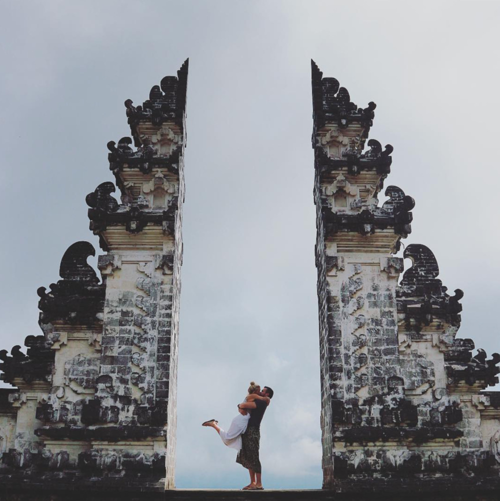 Exploring with my favourite -  Lempuyang Temple, Bali