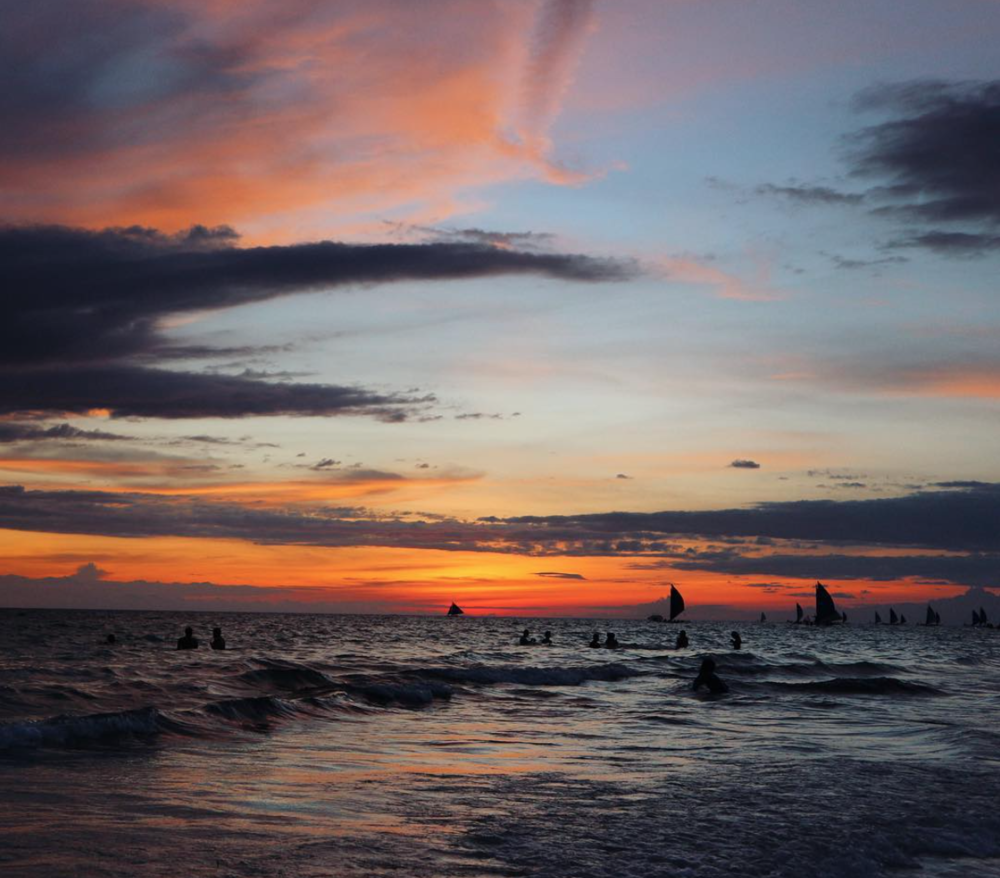 Incredible sunsets -  Boracay, Philippines