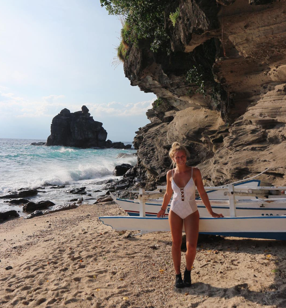 Searching for turtles - Apo Island, Philippines