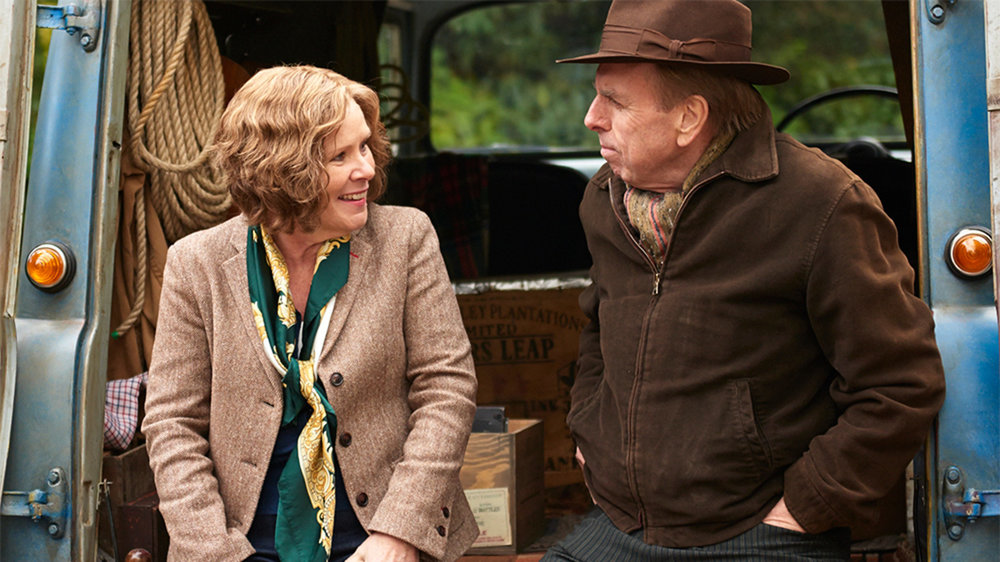 Imelda Staunton with Timothy Spall