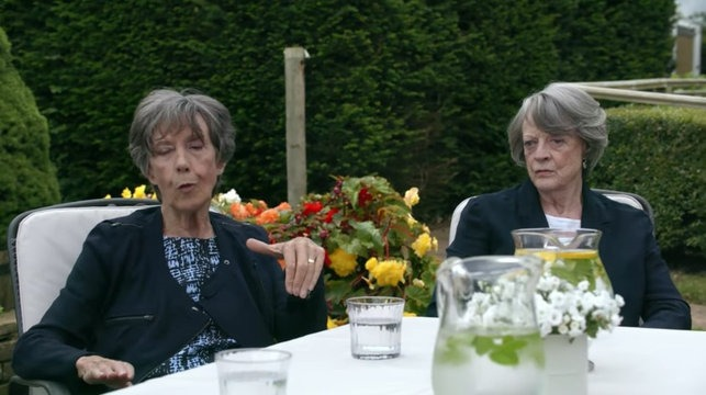 Dame Maggie Smith and Dame Eileen Atkins