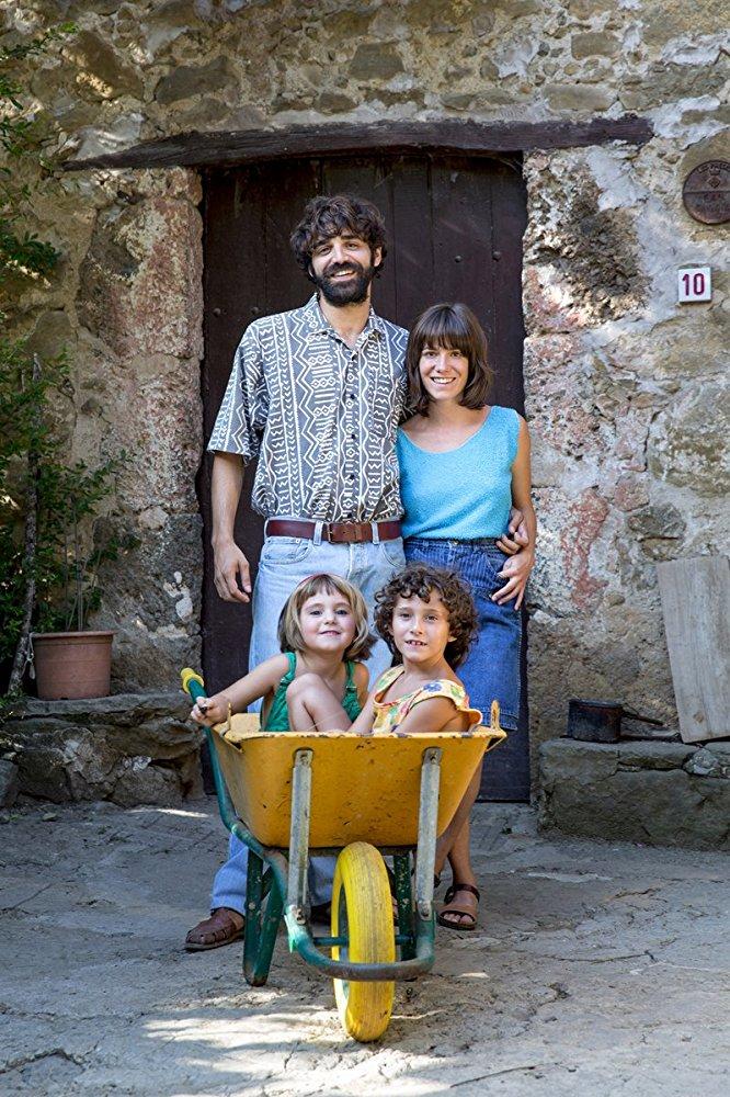 David Verdaguer, Bruna Cusí, Paula Robles and Bruna Cusi