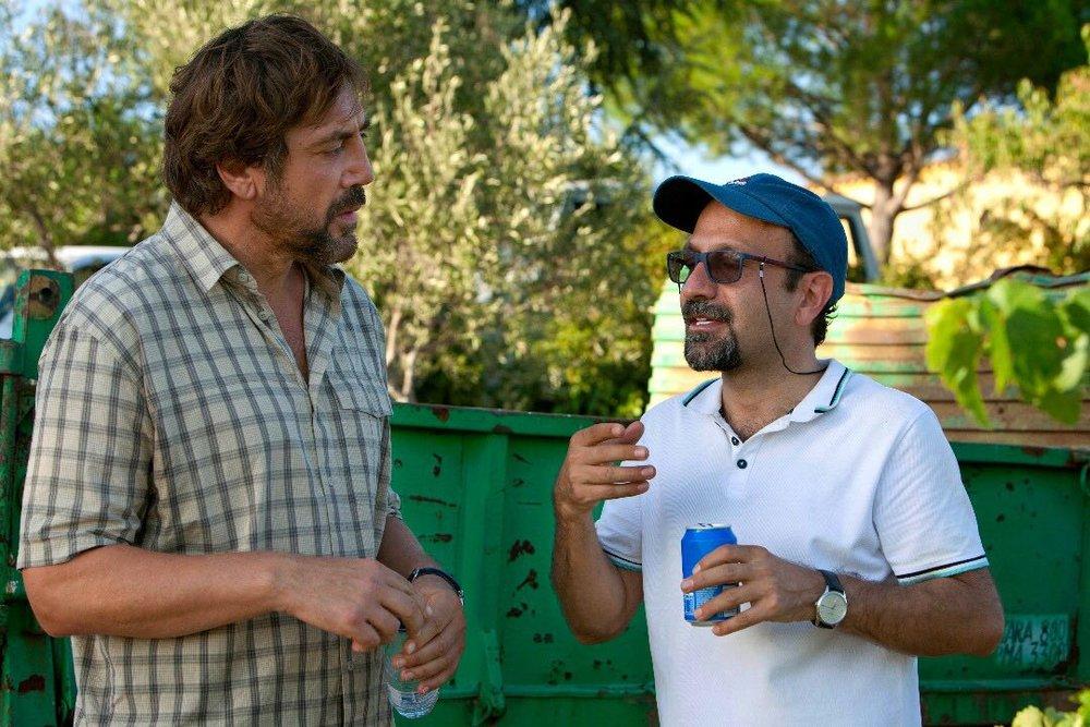 Javier BardemandAsghar Farhadi