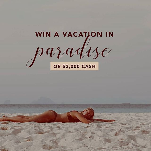 "🎁HAPPY HOLIDAYS🎁 To celebrate the most wonderful time of the year, we're sending one of you on a HOLIDAY VACAY or $3000 cash for all your holiday shopping. . TO GET THE GOODS. 1️⃣ LIKE this photo 2️⃣ FOLLOW everyone @yourholidayvacay is following - takes 60 seconds! 3️⃣ Comment ""done"" when finished . 🌟 BONUS: TAG a friend in the comments (multiple tags allowed, every tag is a bonus entry) . Ends 12.12, the lucky person will be announced 12/15. Fingers crossed!! . Vacation must be equivalent to or of lesser value than cash option. This post is not associated with Instagram Inc. Must be 18 years of age and agree to Instagram's terms of use. No purchase necessary."