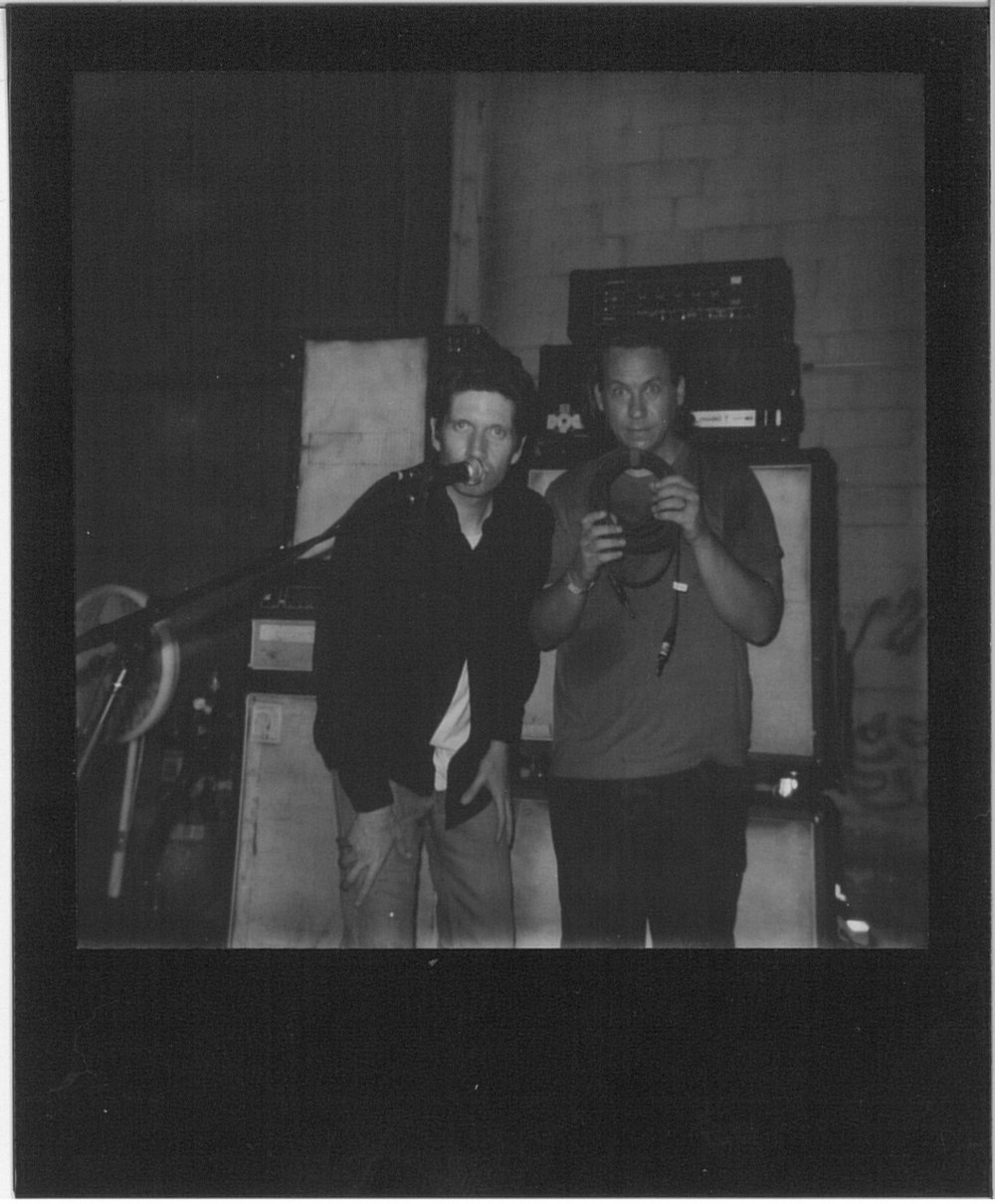 No Age, polaroid by Adam Murphy @ nonecktie.tumblr.com