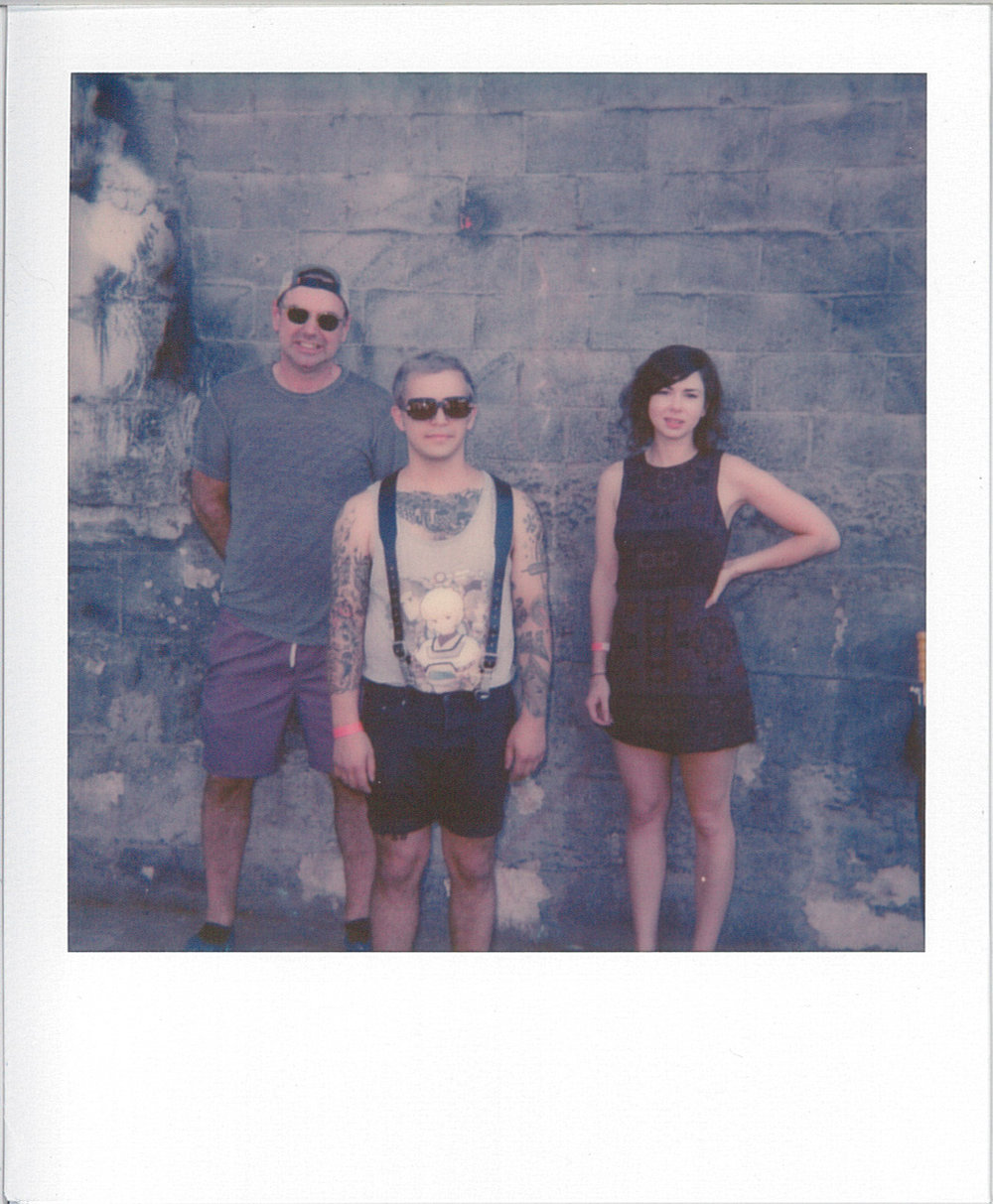 Dusty Brown, polaroid by Adam Murphy @ nonecktie.tumblr.com