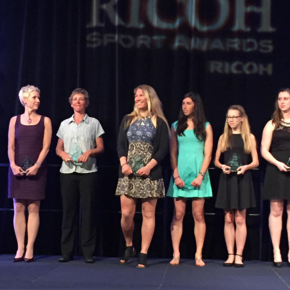 RICOH Sports Award – Female Athlete of the Year 2014