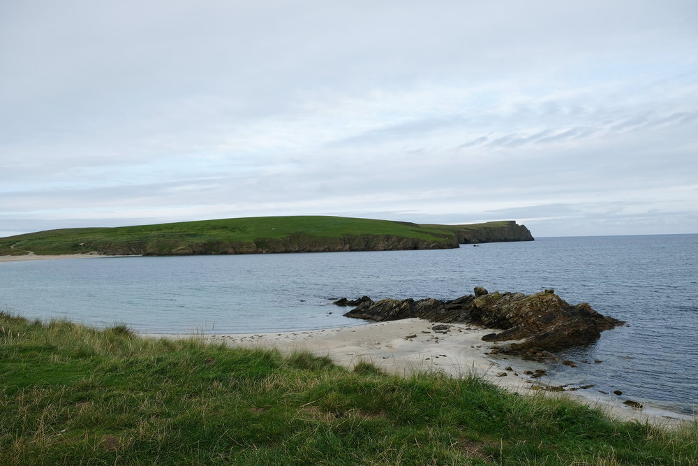 Looking out to the northern side of the isle.