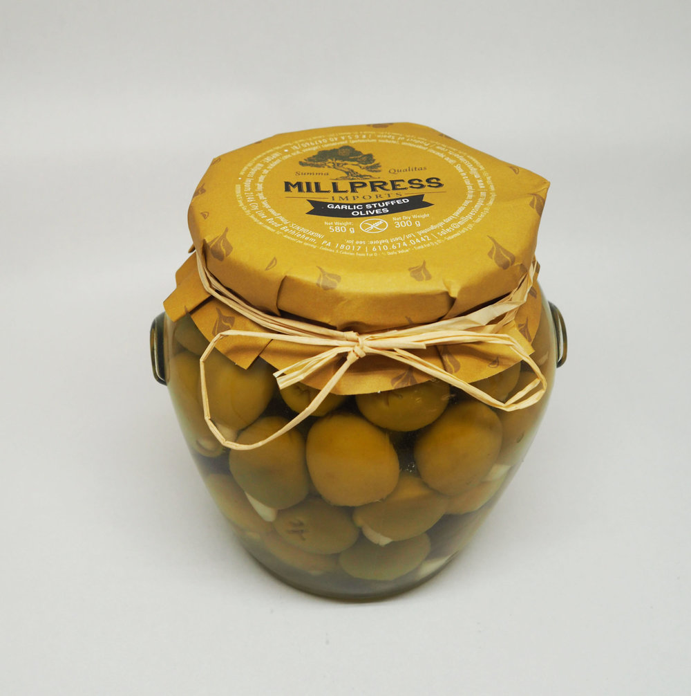 Garlic Stuffed Olives - Product Of Spain